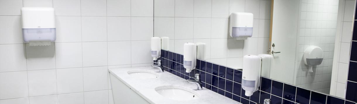 main banner-Dispensers-Washroom accessories